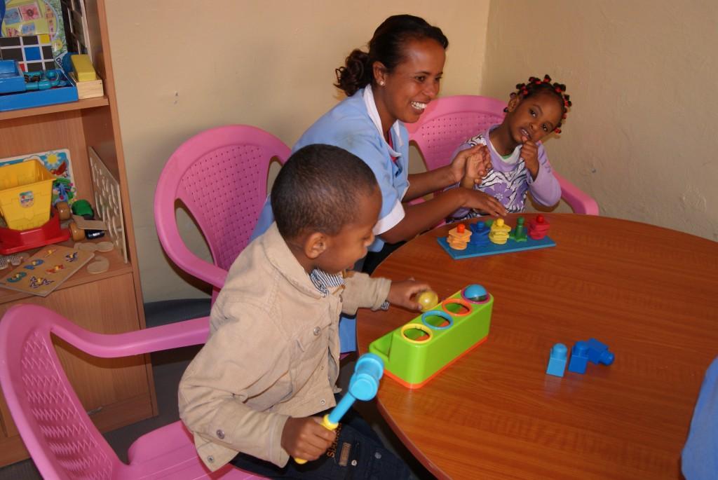 Voluntariado en centro de autismo