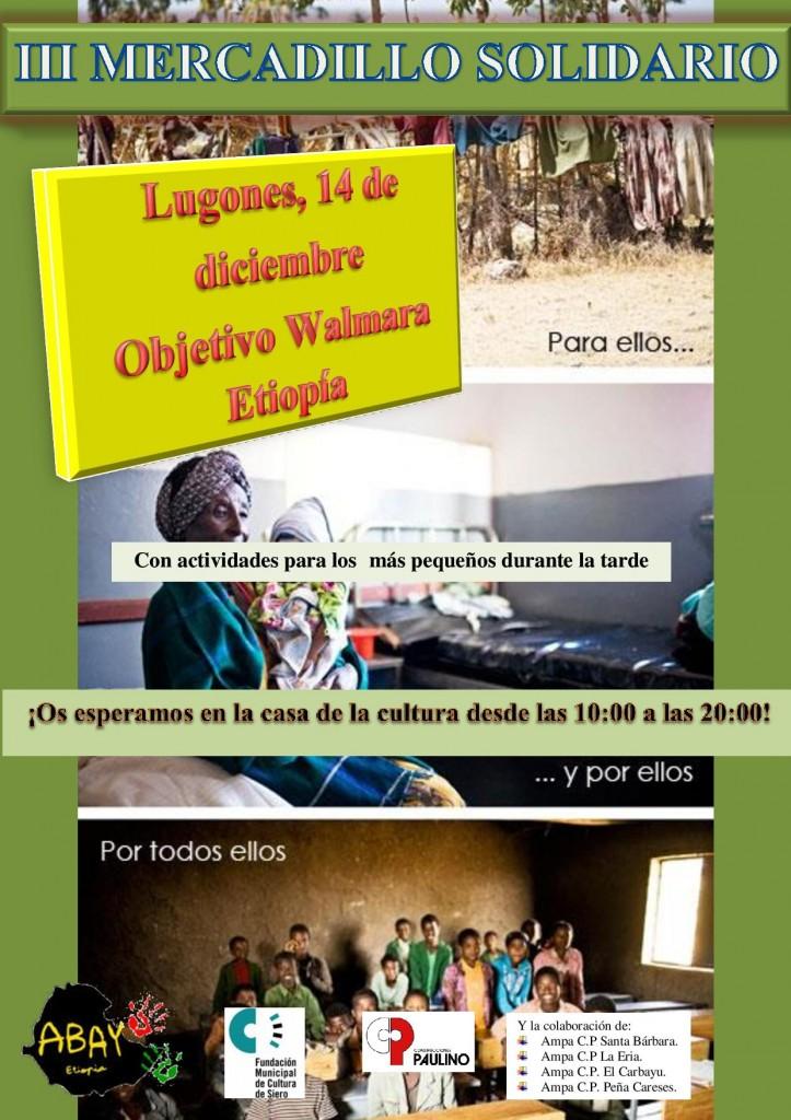 Mercadillo Solidario Abay en Asturias (Lugones) @ CASA DE LA CULTURA DE LUGONES.  | Lugones | Principado de Asturias | España