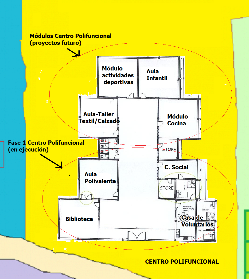Centro polifuncional