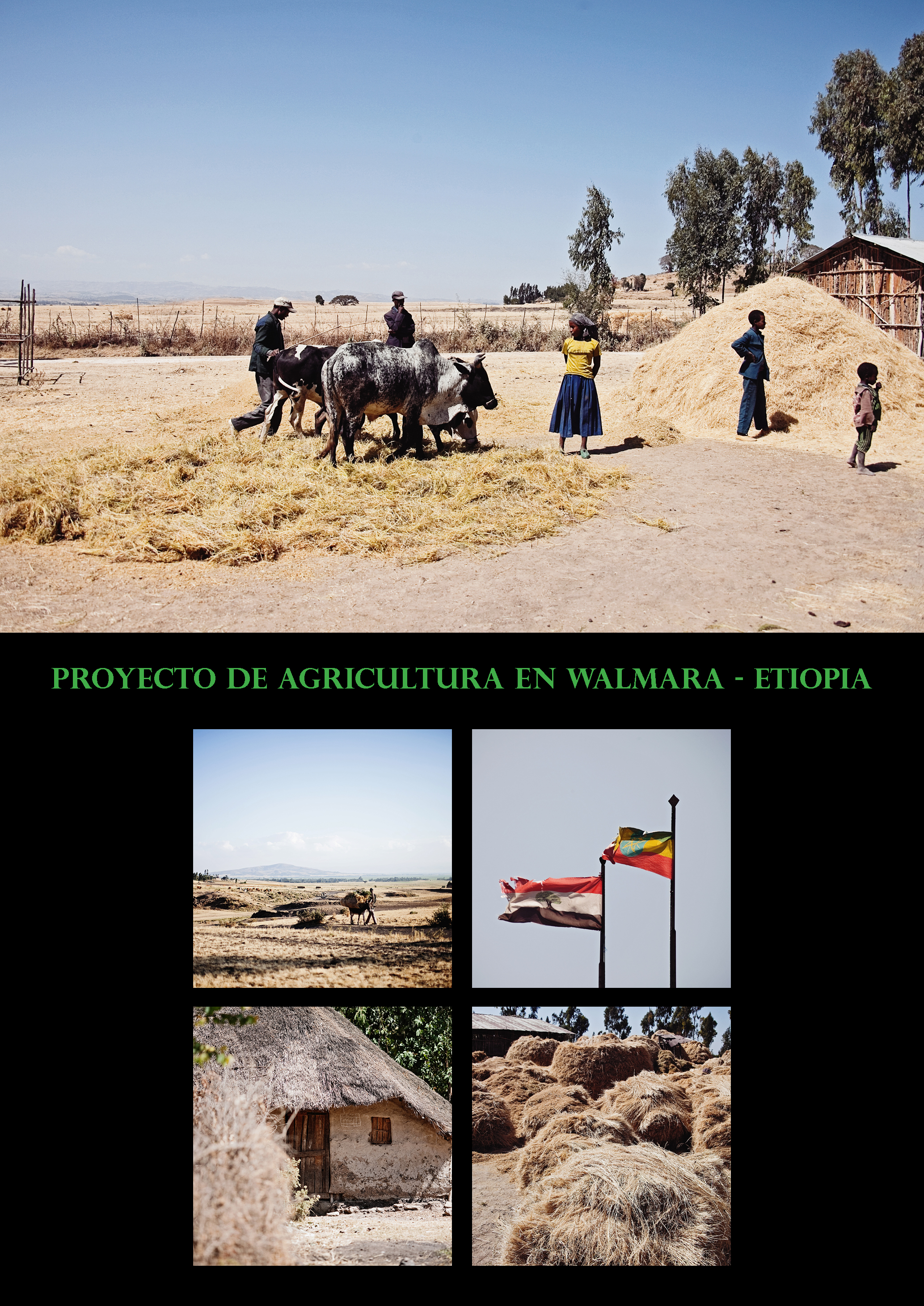 Parcela de demostración agrícola
