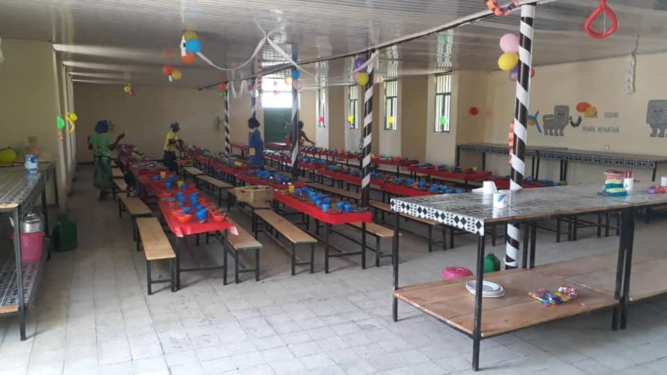 Inauguramos el comedor escolar en Walmara   Asociación ABAY